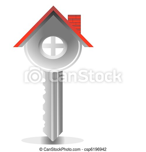 key house, real estate - csp6196942