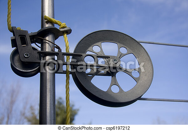 Pulley Clothesline Clip Art