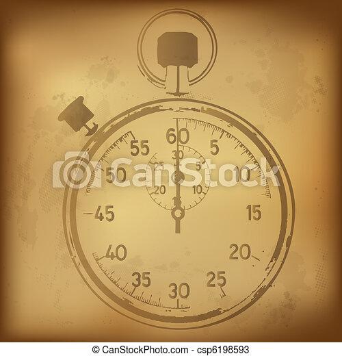 Antique Stopwatch - csp6198593
