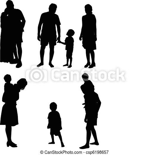 Family - csp6198657