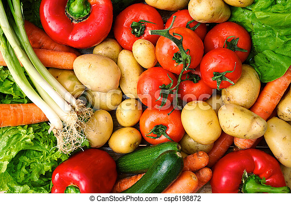 fresh vegetables - csp6198872