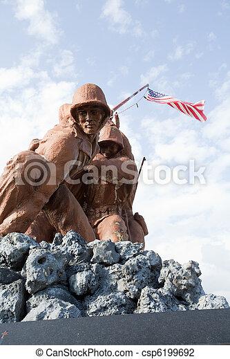Military Statues - csp6199692