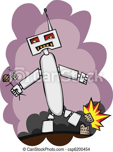Giant Robot Attacks - csp6200454