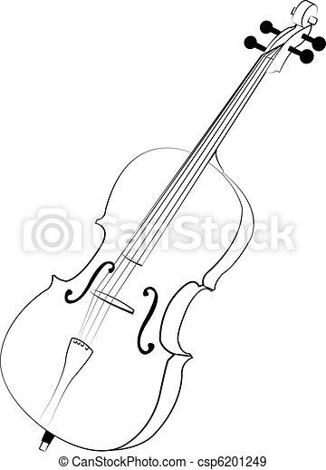 Violoncello - csp6201249