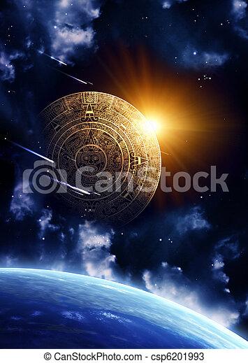 Maya prophecy  - csp6201993