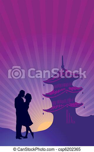 Honeymoon  - csp6202365