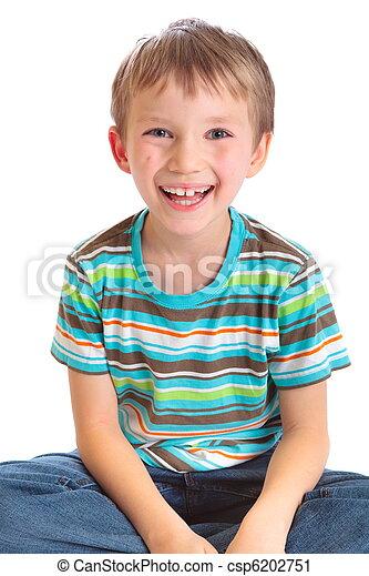 Smiling boy - csp6202751