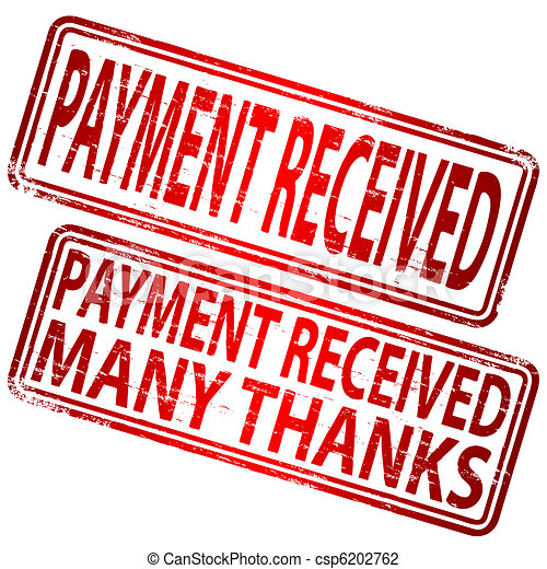 Payment Received Stamp - csp6202762
