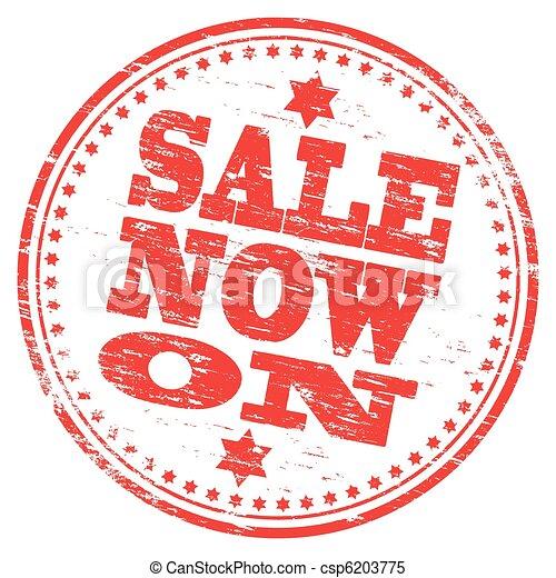 Sale Stamp - csp6203775