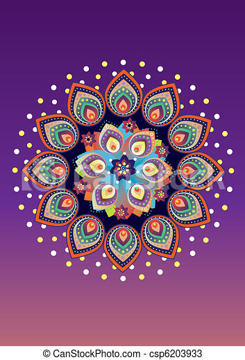 Indian texture - csp6203933
