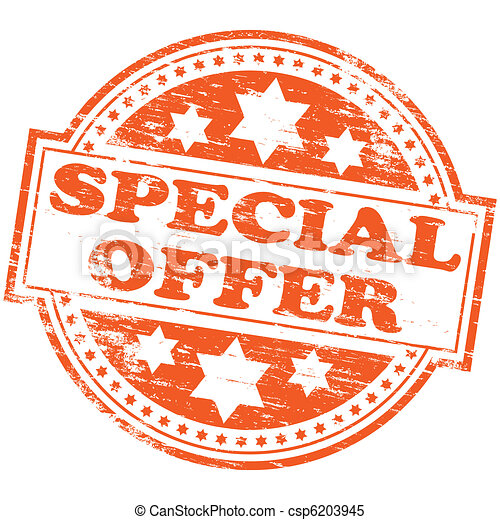 Special Offer Stamp - csp6203945