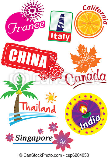 Country sticker - csp6204053
