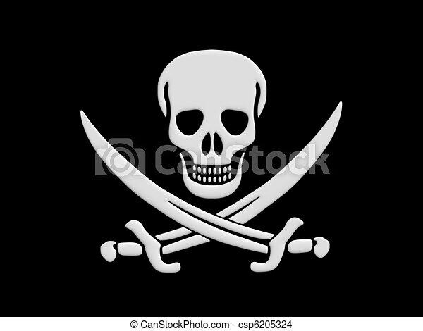 Jolly Roger - csp6205324
