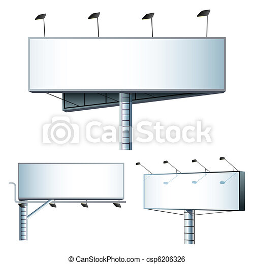 Different Bill Board - csp6206326