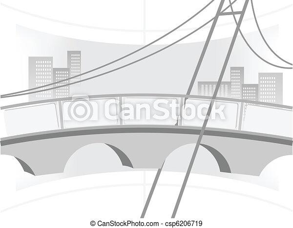 Illustration of the bridge - csp6206719