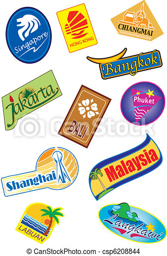 Travel sticker - csp6208844