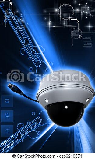 Security camera  - csp6210871