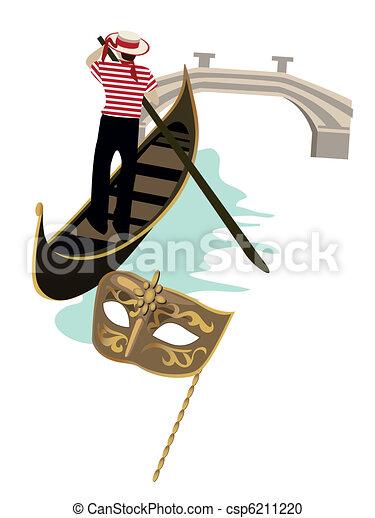 Symbols of Venice - csp6211220