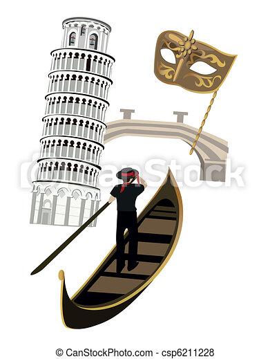 Symbols of Italy - csp6211228