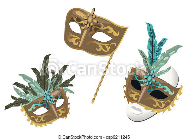 Carnival Masks - csp6211245