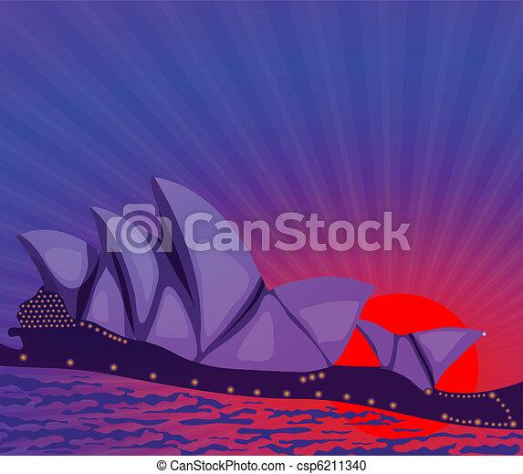 architecture of Australia  - csp6211340