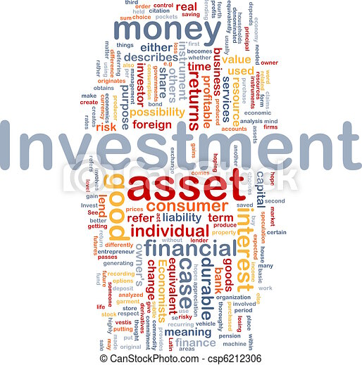 Investment background concept - csp6212306