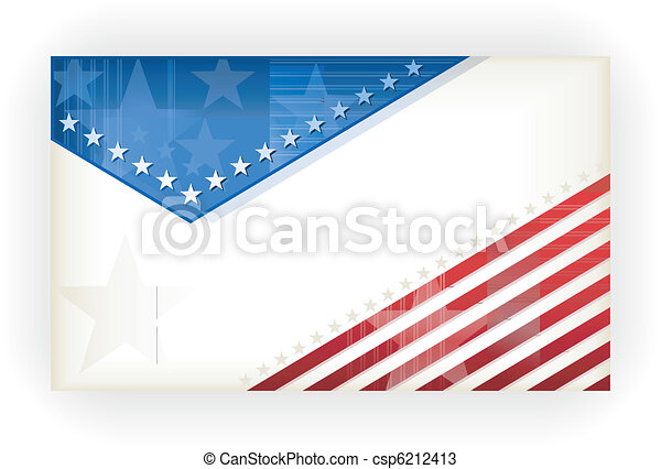 Stars and Stripes, background, busi - csp6212413