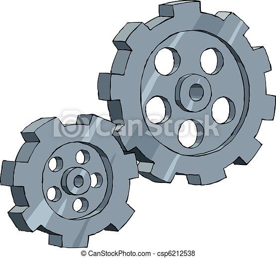 Cogwheel - csp6212538