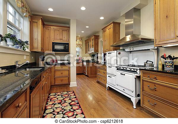 bilder von kueche eiche holz cabinetry kueche luxus daheim csp6212618 suchen sie. Black Bedroom Furniture Sets. Home Design Ideas