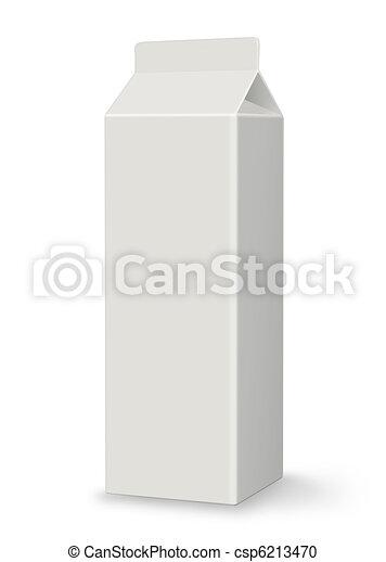 Blank Carton - Milk or Juice - XL - csp6213470