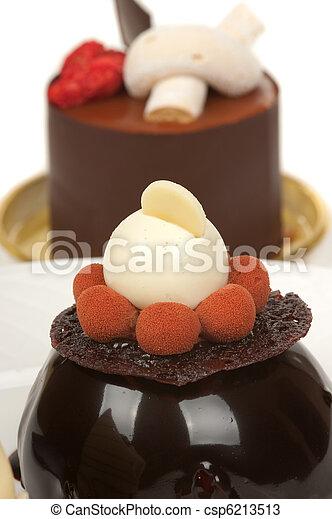 Gourmet Dessert - csp6213513