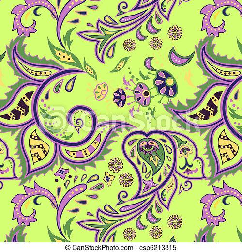 vecteur clipart de motifs vert seamless oriental color seamless csp6213815. Black Bedroom Furniture Sets. Home Design Ideas