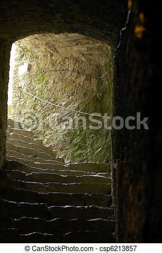 Castle dungeon - csp6213857