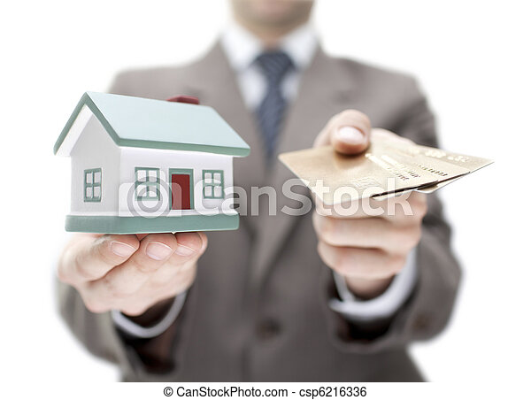 Invest in real estate concept - csp6216336