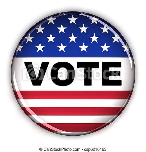 Vote button - csp6216463