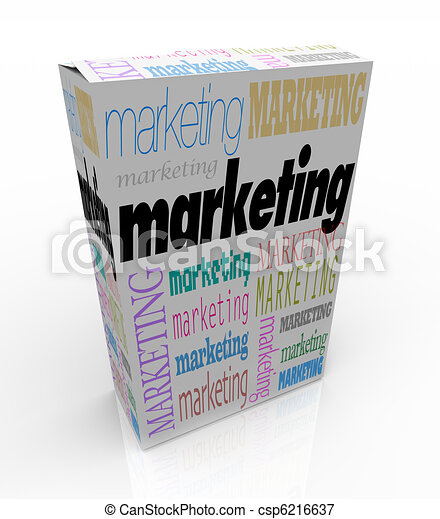 Marketing - Unique Selling Proposition of a New Product - csp6216637