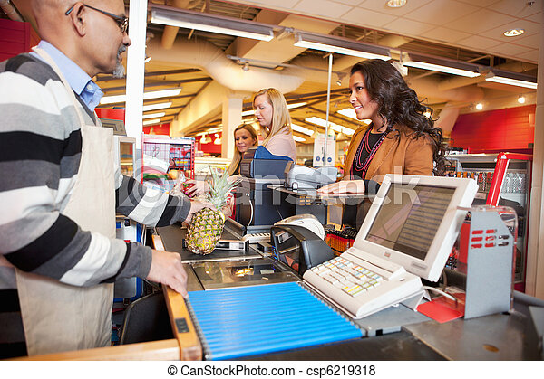 Grocer Store Checkout - csp6219318