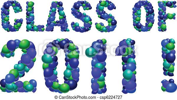 Class of 2011 sign - csp6224727
