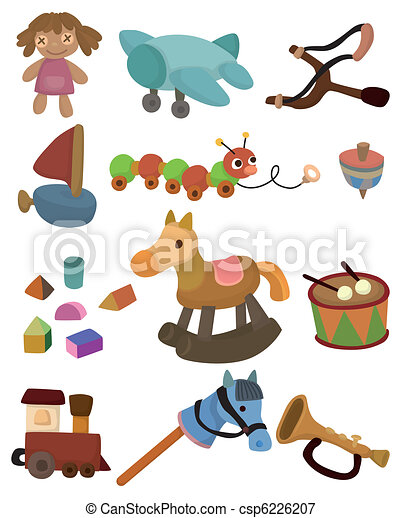 cartoon child toy icon - csp6226207