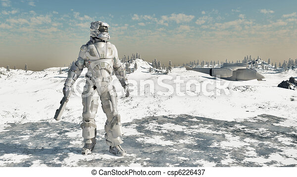 Space Marine - Ice Warrior - csp6226437