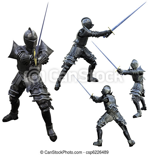 Knight Swordsman - csp6226489