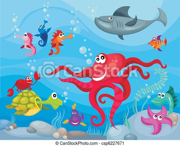 sea life - csp6227671