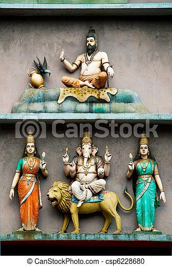 temple in kuala lumpur malaysia - csp6228680