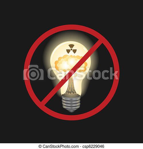 Dangerous source of energy - csp6229046