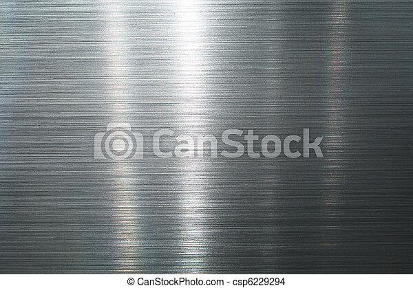 Brushed metal plate - csp6229294