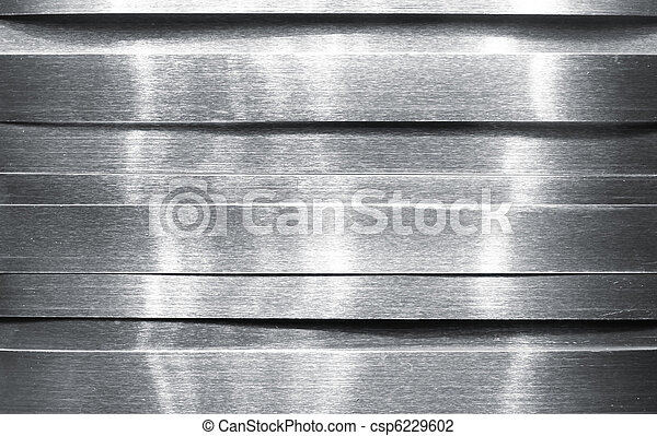 Shiny metal strips - csp6229602
