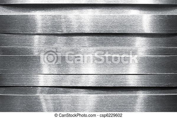 Shiny metal strips - csp6229602