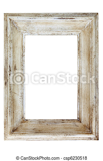 Distressed Picture Frame - csp6230518