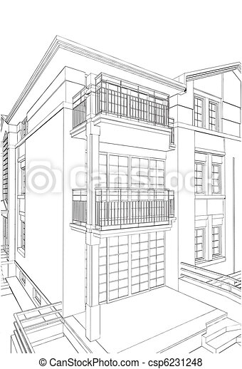 Residential House - csp6231248
