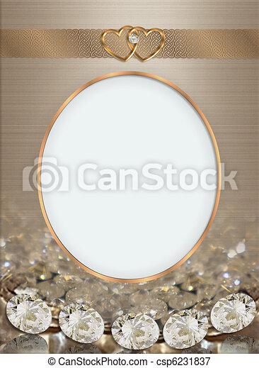Thank you card for Wedding photo - csp6231837